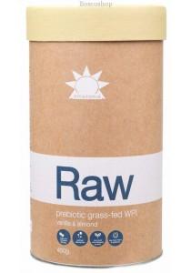 AMAZONIA - RAW Prebiotic Grass-Fed WPI Vanilla & Almond (450g)