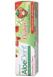 ALOE DENT Toothpaste (Children) Strawberry