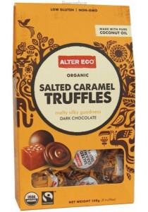 Alter Eco Chocolate (Organic) Salted Caramel Truffles 108g