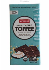 ALTER ECO Chocolate (Organic) Dark Coconut Toffee