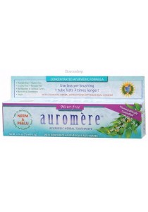 AUROMERE Toothpaste - Ayurvedic Mint Free