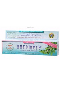 AUROMERE Toothpaste - Ayurvedic Cardamom-Fennel (Foam-Free)