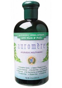AUROMERE Mouthwash (Ayurvedic) Neem & Peelu