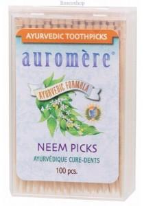 AUROMERE Toothpicks Neem Picks (Peppermint)