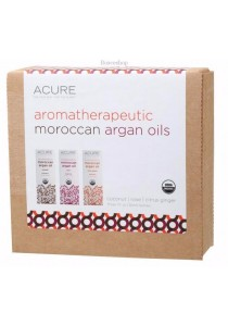 ACURE Argan Oil - Aromatherapeutic Gift Pack of 3