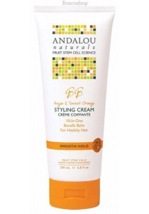 ANDALOU NATURALS Smooth Hold Styling Cream Argan & Sweet Orange