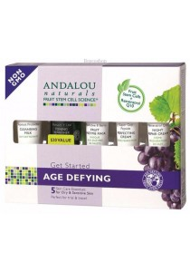 ANDALOU NATURALS Age Defying (for Dry Skin) Trial & Travel Pack
