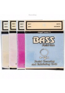 BASS FACIAL CARE Exfoliating Facial Cloth