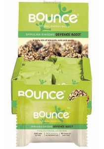 BOUNCE Energy Balls Spirulina & Ginseng (Box of 12)