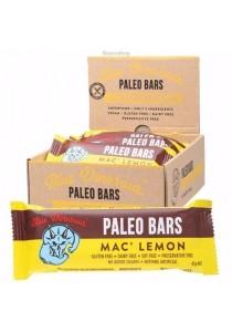 BLUE DINOSAUR PALEO BARS Mac' Lemon Paleo Snack Bar - Box of 12