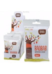 BONGA Baobab Superfood Chews Mango - Display Box of 12
