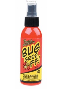 BUG-GRRR OFF Natural Protection - DEET free Jungle Strength Spray