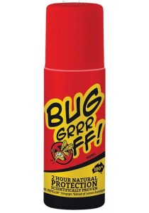 BUG-GRRR OFF Natural Protection - DEET free Regular Strength Roll On