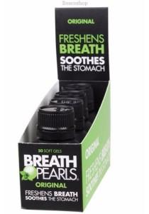BREATH PEARLS Breath Freshener Original (50 Soft Gels)