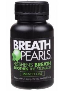 BREATH PEARLS Breath Freshener Original (150 Soft Gels)