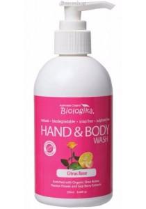 BIOLOGIKA Hand & Body Wash (Citrus Rose)