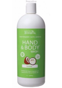 BIOLOGIKA Hand & Body Wash (Coconut) (1L)