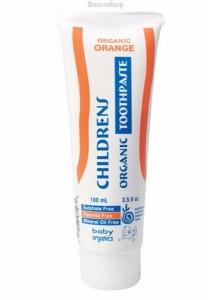 BABY ORGANICS Toothpaste (Children) Orange