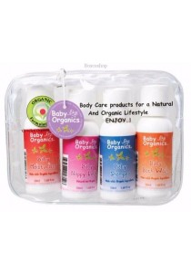 BABY ORGANICS Baby Gift Pack 50ml sizes of 01,02,03,04