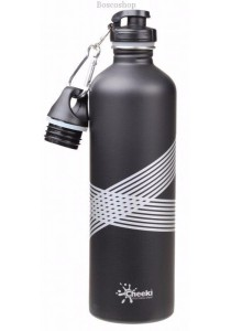 CHEEKI Stainless Steel Bottle (Matte Black)