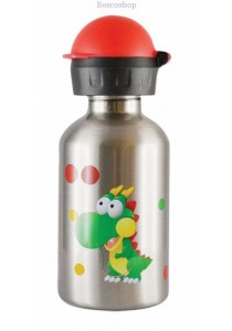 CHEEKI Stainless Steel Bottle (Dinosaur 500ml)