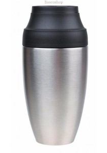 CHEEKI Coffee Mug Silver (350ml)