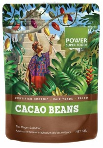 "POWER SUPER FOODS Cacao Beans ""The Origin Series"" (125g)"