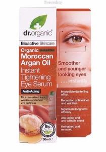 DR ORGANIC Instant Tightening Eye Serum (Organic Moroccan Argan Oil)