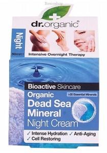 DR ORGANIC Night Cream (Organic Dead Sea Mineral)