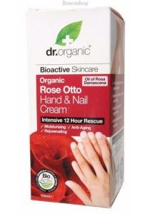 DR ORGANIC Hand & Nail Cream (Organic Rose Otto)