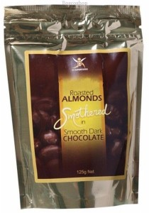 DR SUPERFOODS Dark Chocolate Almonds Roasted Almonds