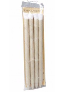 OLLEY Ear Candles 100% Unbleached Cotton