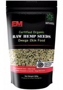 EM SUPER FOODS Hemp Seeds Hulled (500g)