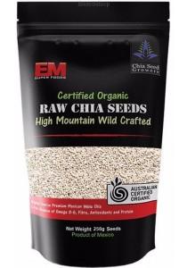 EM SUPER FOODS White Chia Seeds (250g)