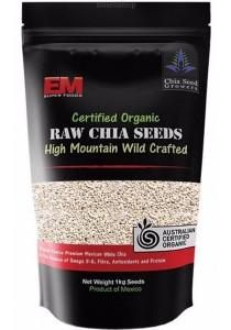 EM SUPER FOODS White Chia Seeds (1kg)
