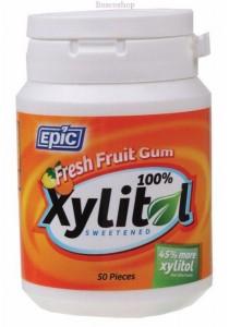 EPIC Xylitol Chewing Gum (Fresh Fruit)