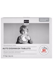 ECOSTORE Auto Dishwash Tablets Fragrance Free (Bulk)