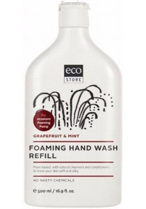 ECOSTORE Foaming Hand Wash (Refill) (Grapefruit & Mint)