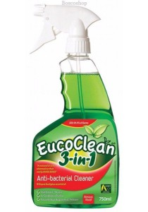 EUCOCLEAN Anti-bacterial Cleaner 3-in-1 Disinfect/Clean/Bed Bugs