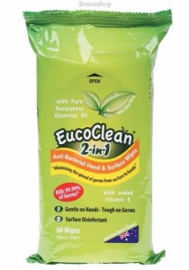 EUCOCLEAN Wipes 2-in-1 Disinfect/Clean