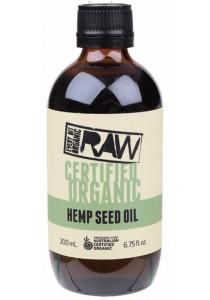 EVERY BIT ORGANIC RAW Hemp Seed Oil (200ml)