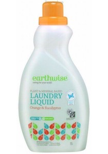 EARTHWISE Laundry Liquid (Orange & Eucalyptus)