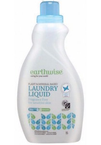 EARTHWISE Laundry Liquid Fragrance Free (Sensitive Skin)