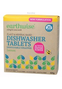 EARTHWISE Dishwasher Tablets (Lemon) (600g)