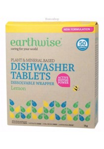 EARTHWISE Dishwasher Tablets (Lemon) (1kg)