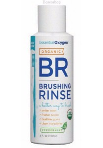 ESSENTIAL OXYGEN Toothpaste/Mouthwash Brushing Rinse (Peppermint) (118ml)