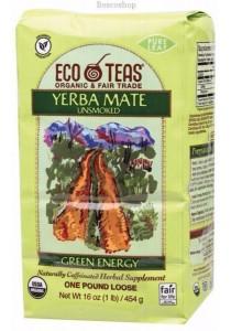 ECO TEAS Herbal Loose Leaf Tea Yerba Mate (Green Energy)