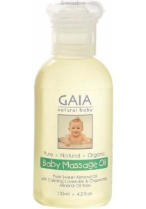 GAIA NATURAL BABY Baby Massage Oil