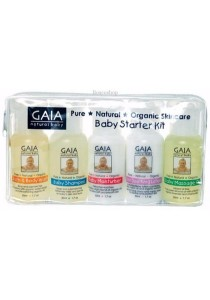 GAIA NATURAL BABY Baby Starter Kit Contains 50ml sizes of GA01 - 05