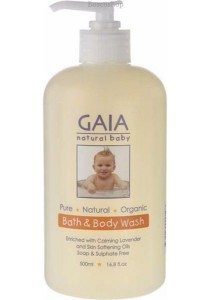 GAIA NATURAL BABY Baby Bath & Body Wash (500ml)